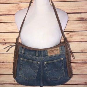 Lucky Brand Denim Shoulder Bag